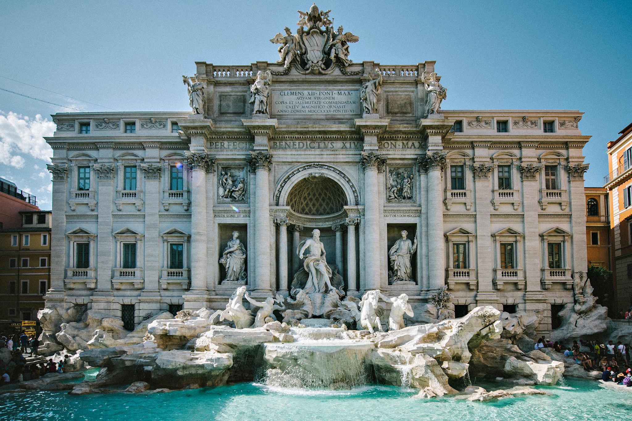Rome - Fontana De Trevi