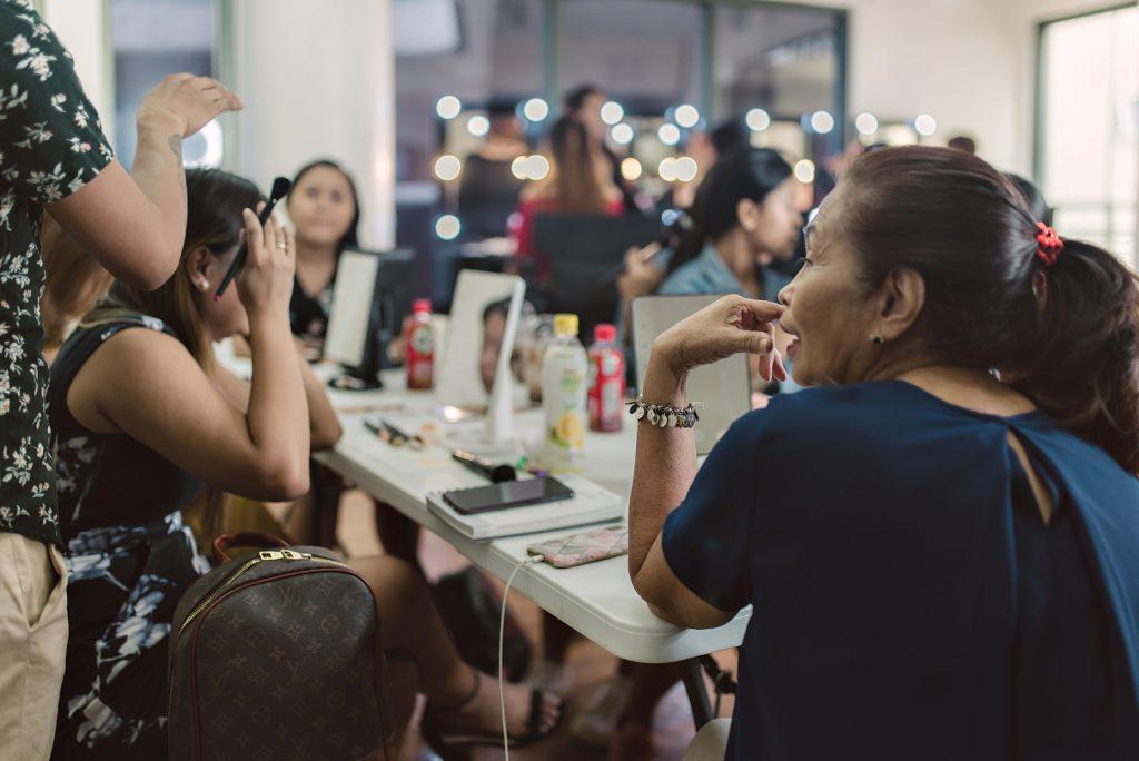 Denise Bassler Make-Up Class